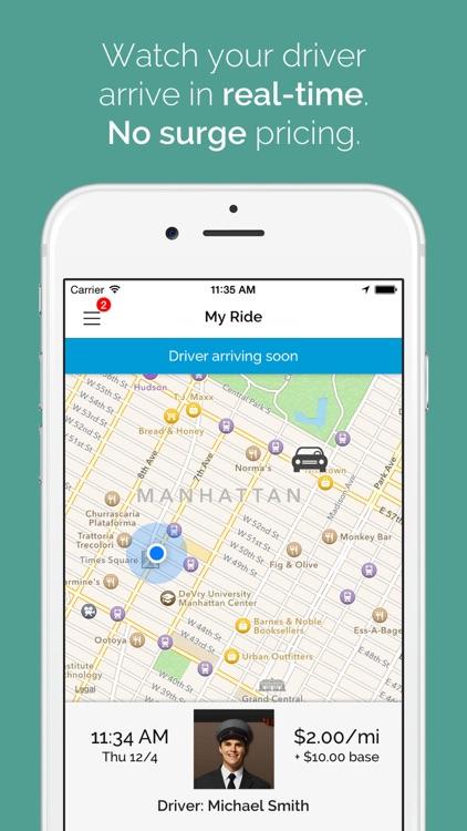 Caliber Reservations App