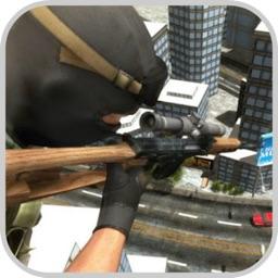 Sniper Shoot:Bank Robbers Gang