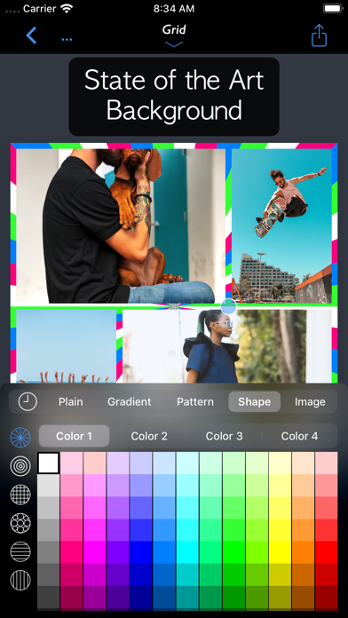 FrameMagic - Collage Maker ScreenShot4