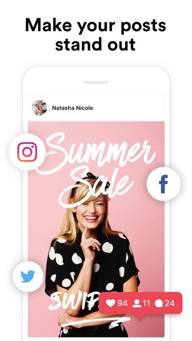 InstaSize Photo Editor & Grid Screenshot on iOS