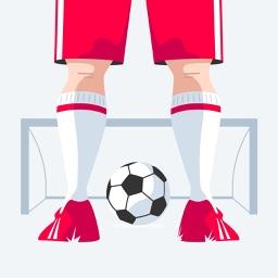 Soccer fan stickers
