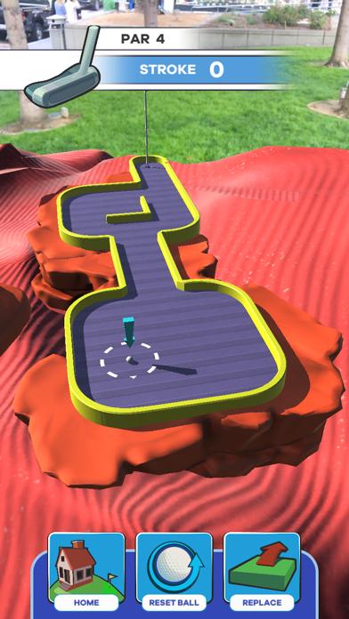 Putt Putt World - AR Mini Golf screenshot 4