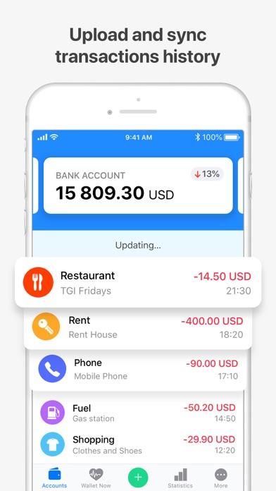 Wallet:個人財務&金銭追跡のスクリーンショット4