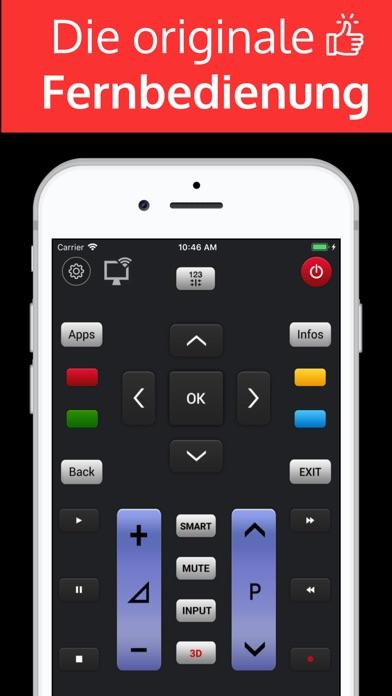 Screenshot for LGeemote: Fernbedienung lg tv in Germany App Store
