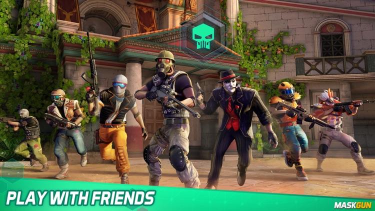 MaskGun: Online PvP FPS game screenshot-6