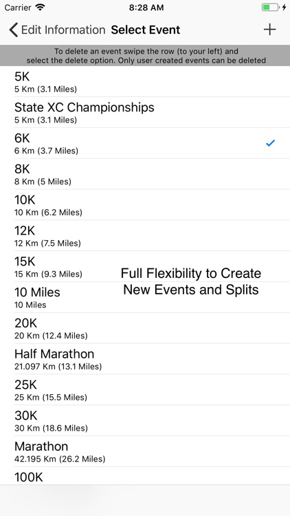 StopWatch for Cross Country screenshot-4