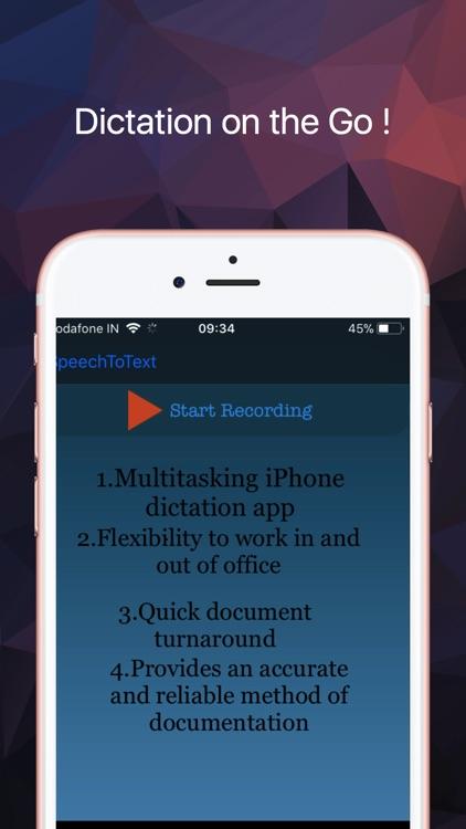 Speech to Text : Voice to Text screenshot-4