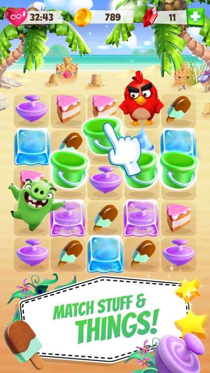 Angry Birds Match screenshot-0