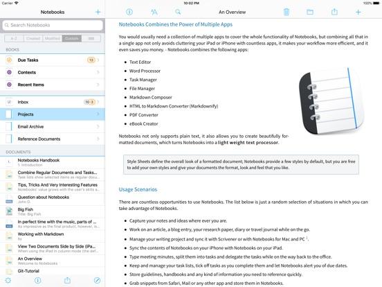Notebooks 8 Screenshots