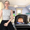 孕妇妈妈和婴儿护理游戏