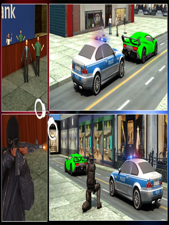 Bank Robbery 3D Police Escape-ipad-4