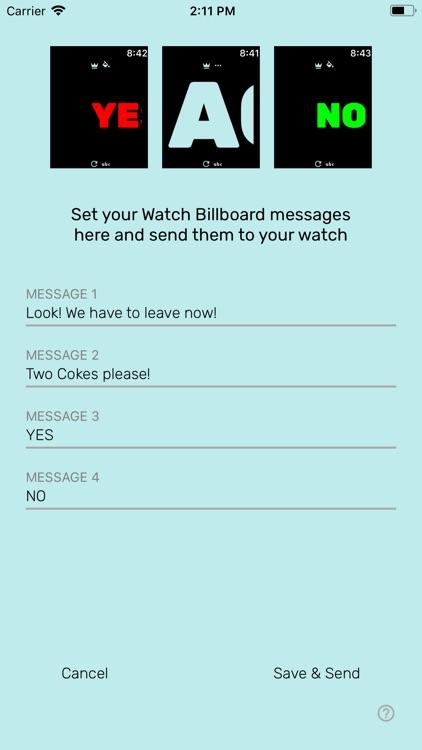 WatchBillboard