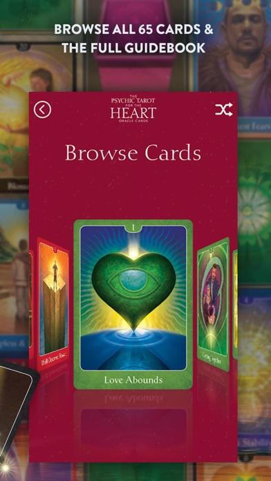 Psychic Tarot for the Heart screenshot 2