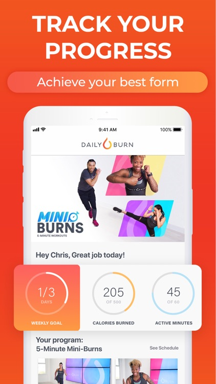 At Home Workouts by Daily Burn screenshot-4
