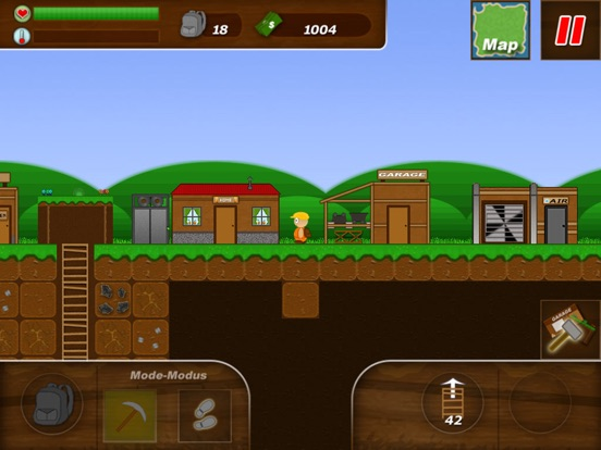 Screenshot #1 for Treasure Miner - 2d gem mine