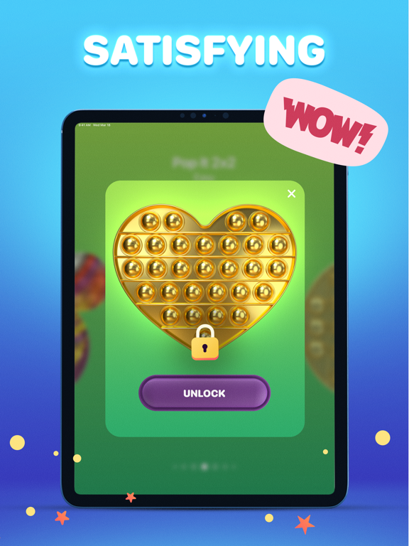 Pop it Game - Fidget Toys 3D iPad app afbeelding 4