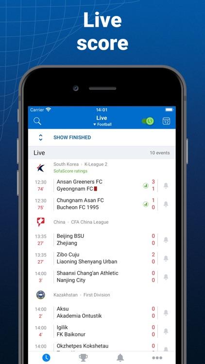 SofaScore: Live score app screenshot-0