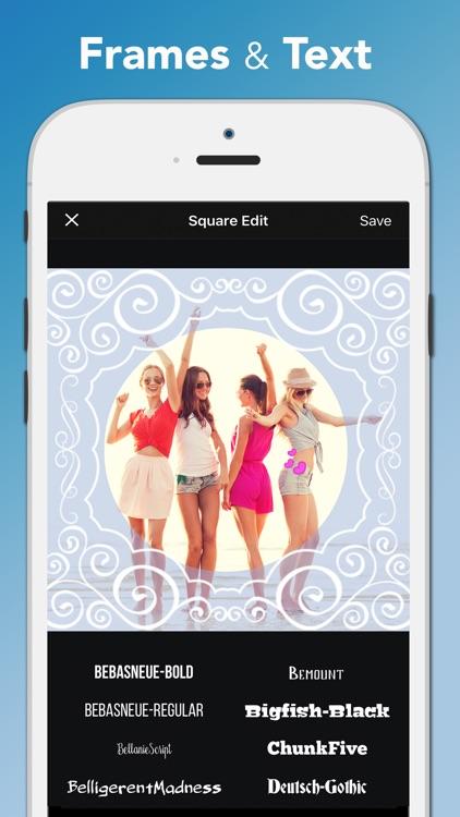 Square Edit Photo Video Editor screenshot-3