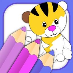 Toddler Coloring & Kids Draw