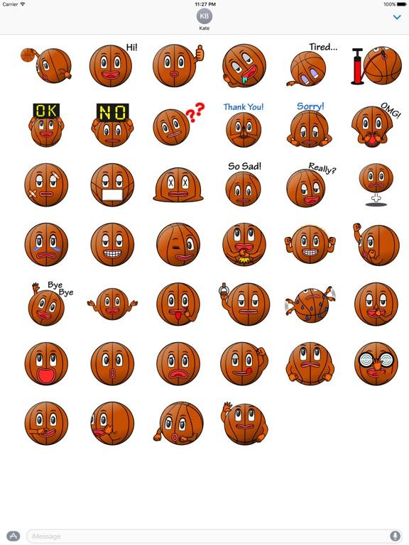 Basketball Club Emoji Sticker screenshot 4