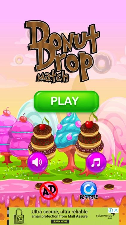 Donut Drop Match