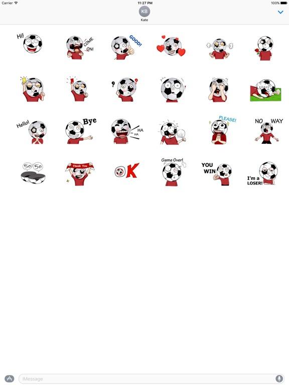 Animated Football Man Sticker screenshot 3