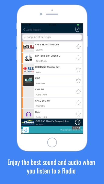 Radio World: Radio FM AM World screenshot-3