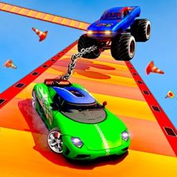 Stunt Racer : Chain Car Stunts