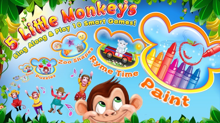 5 Little Monkeys: Songs & More