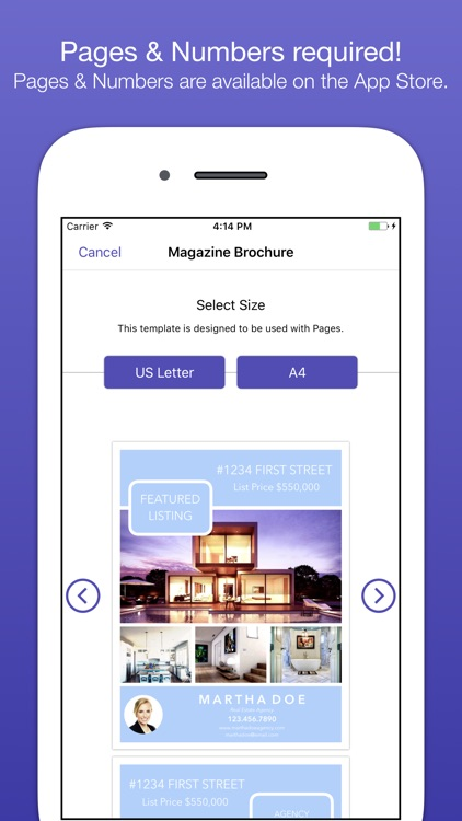 RealEstate Templates for Pages screenshot-3