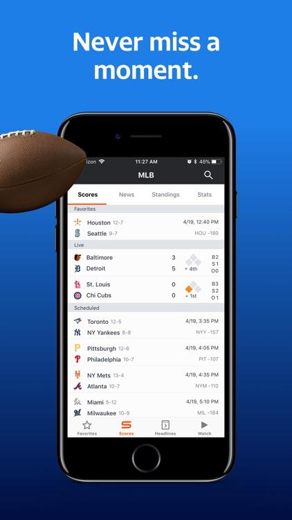 Yahoo Sports: Scores & News screenshot-4