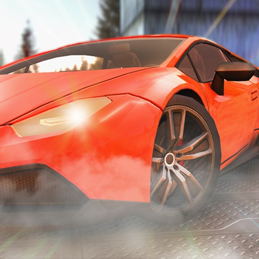 American Car Driving Simulator Icon