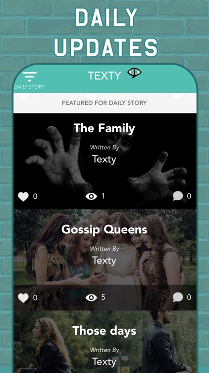 TEXTY: Chat Stories Text Story screenshot-7