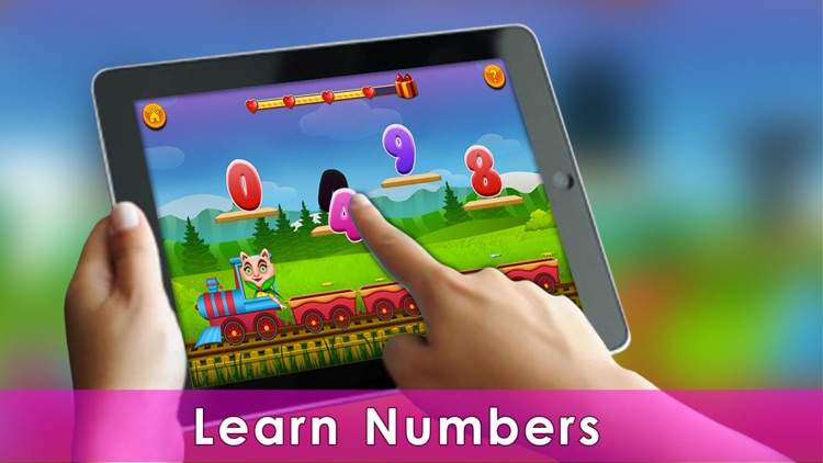 Kids 123 ABC Puzzle Game screenshot-2