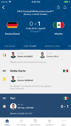 FIFA Fussball-WM 2018™ Screenshot