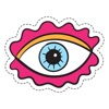 Funny Eyes Stickers