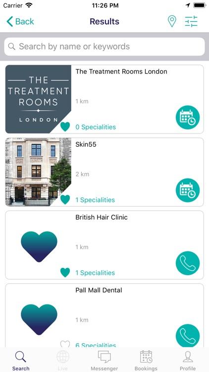 TechMed Medical Booking screenshot-4