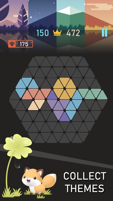 Trigon : Triangle Block Puzzle Screenshot 3