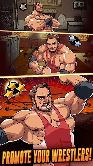 The Muscle Hustle: Wrestling Скриншоты3