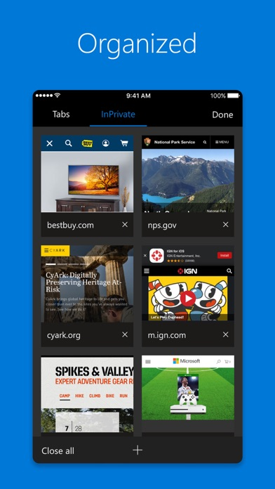 download Microsoft Edge apps 1