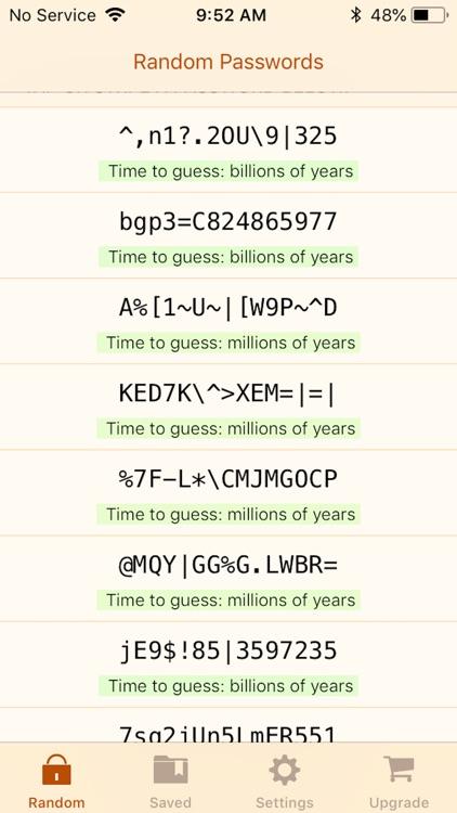RPG: Random Password Generator screenshot-0