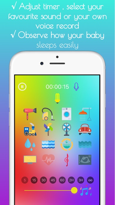 Baby Sleep Sounds White Noise App Data & Review - Health