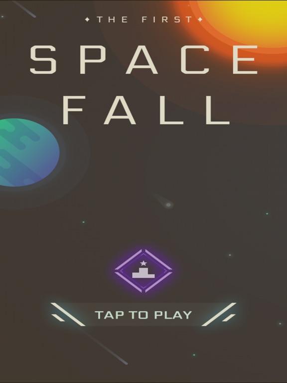 Screenshot 3 Space Fall - M