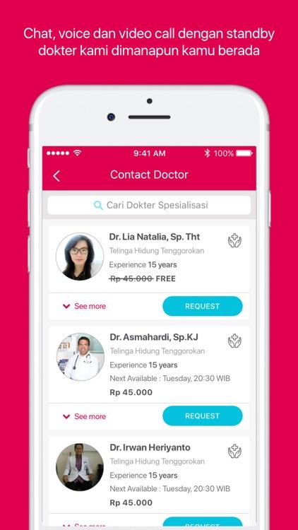 Halodoc: Doctors & Medicines screenshot-3