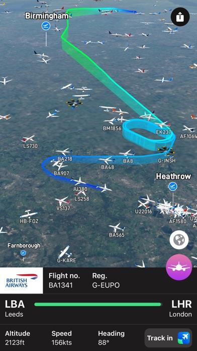 Plane Finder 3D screenshot1