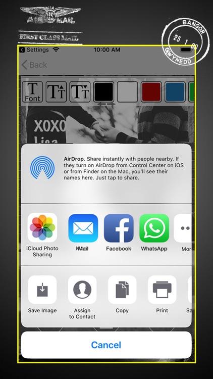 Black and White - Ecard Maker screenshot-3