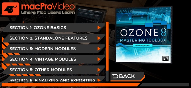 Mastering Toolbox For Ozone 8