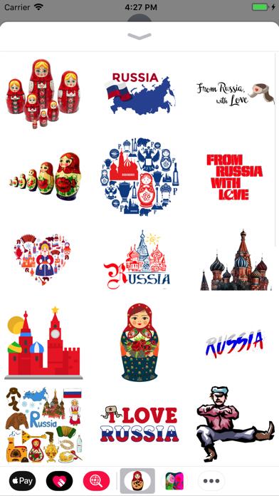 Russia Stickers! screenshot three