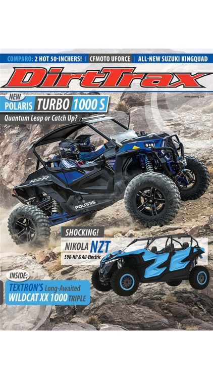 Dirt Trax Magazine screenshot-0