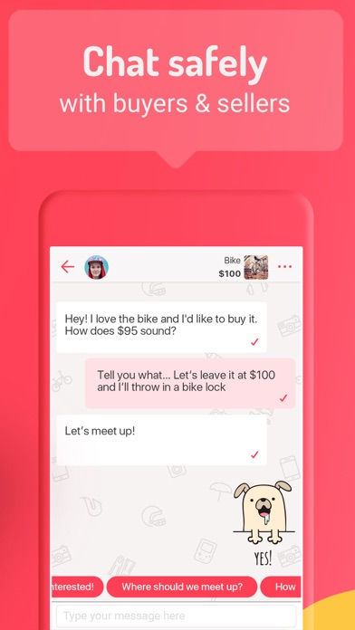 letgo: Buy & Sell Used Stuff app